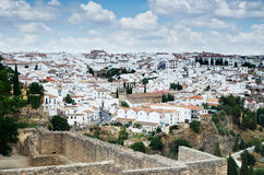 The village of Ronda in Andalusia, Spain Royalty Free Stock Images