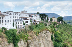 The village of Ronda in Andalusia, Spain Royalty Free Stock Image