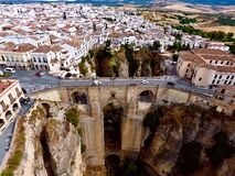 The white village Ronda in Andalusia - Spain