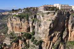 Village Ronda,Spain Royalty Free Stock Photo