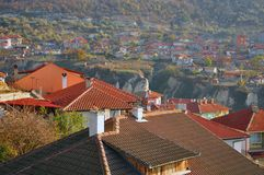 Village roofs Royalty Free Stock Images