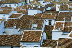 Village roofs Royalty Free Stock Photos