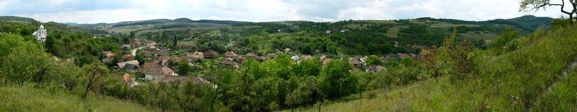 Village roumain Photographie stock