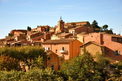 Village of Roussillon France Royalty Free Stock Images