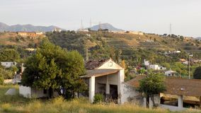 Village ruins house Andalusia Spain Europe Stock Image