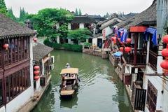Village rural de Changhaï Images libres de droits