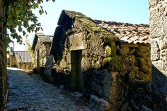Village rural en parc national de Peneda Geres photographie stock libre de droits