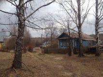 Village russe Photo stock