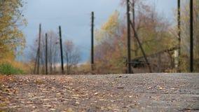 Village russe en automne clips vidéos