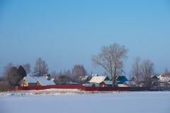 Village in Russia Stock Photo