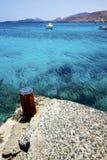 Village rusty metal arrecife teguise lanzarote Stock Photos