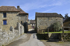 Village of Saint-Ceneri-le-Gerei in France Royalty Free Stock Photography