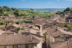 Village of Saint Emilion, Bordeaux Royalty Free Stock Image