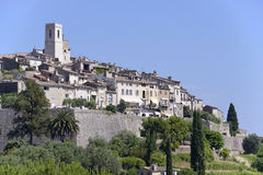 Village of Saint Paul de Vence in France Stock Images
