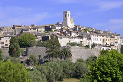 Village of Saint Paul de Vence in France Stock Photos