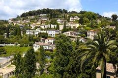 Village Saint-Paul-de-Vence , Provence, France. Beautiful landscape near the village Saint-Paul-de-Vence , Provence, South France Royalty Free Stock Image