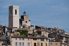 The village of Saint Paul de Vence Royalty Free Stock Photography