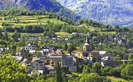 Village of Saint Savin Royalty Free Stock Photos