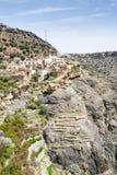 Village on Saiq Plateau Royalty Free Stock Image