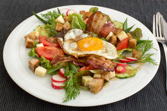 Village salad Royalty Free Stock Images