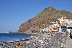 Village of San Andres at Tenerife Royalty Free Stock Photos