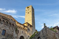 Village of San Gimignano Royalty Free Stock Images