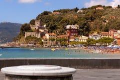 Village of San Terenzo - Lerici Liguria Italy Stock Photos