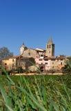 Village of Sant Sadurni de la Heura, Baix Emporda,. Girona province, Catalonia, Spain Stock Photo