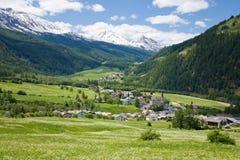 Village of Santa Maria Stock Images