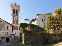 Village Santa Maria del Monte Stock Photo