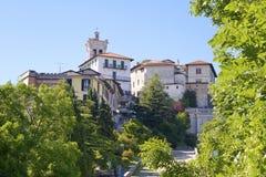 Village Santa Maria del Monte Stock Image