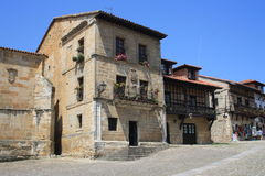 Village of Santillana del Mar Stock Photos