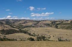 Village scene on the Anatolian plateau, Turkey. Village scene from Anataolia, Turkey stock photography