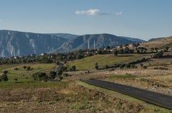 Village scene on the Anatolian plateau, Turkey. Village scene from Anataolia, Turkey royalty free stock images