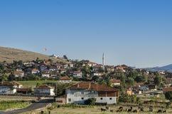 Village scene on the Anatolian plateau, Turkey. Village scene from Anataolia, Turkey stock image