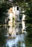 Village scene in France Royalty Free Stock Image
