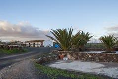 Village scene - Fuerteventura Stock Photography