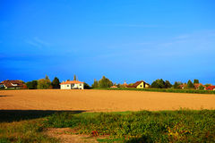 Village scenery Royalty Free Stock Images