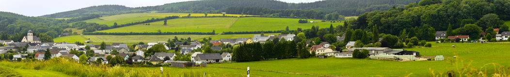 Village scenery Stock Photography