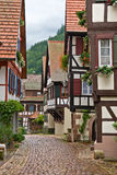 The village of Schiltach in Germany. The village of Schiltach in the Black Forest, Germany Stock Photos