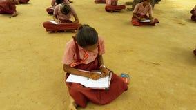 Village school. Village  children study is best Stock Images