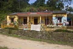 Village school Royalty Free Stock Image