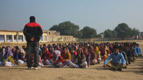 Village school in Rajasthan, India Royalty Free Stock Photography