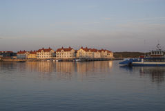 Village by the sea. At the Swedish West coast Stock Photos