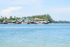 Village sea royalty free stock photos