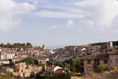 Village of Sepulveda. In Segovia, Spain Royalty Free Stock Image