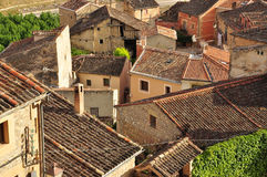 Village of Sepulveda, Castile region. Spain Royalty Free Stock Images