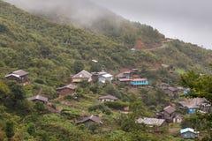 Village Settlement near Falam, Myanmar Royalty Free Stock Images