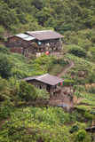 Village Settlement near Falam, Myanmar Royalty Free Stock Photos