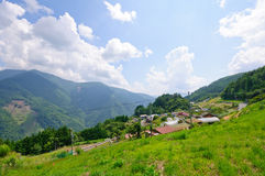 Village of Shimoguri Royalty Free Stock Photography